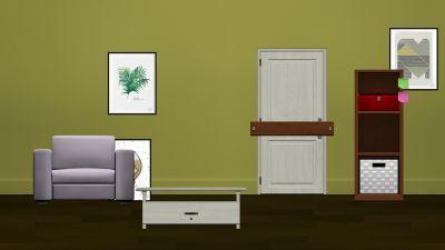 The yellow Wallpaper escape room