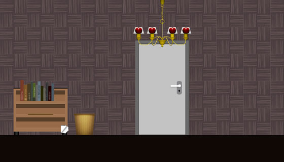 escape the haunted room